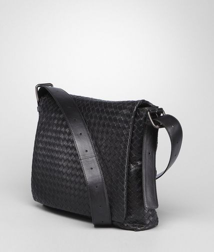 BOTTEGA VENETA - Intrecciato Light Calf Cross Body Messenger