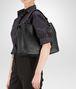 BOTTEGA VENETA MEDIUM SHOULDER BAG IN NERO INTRECCIATO NAPPA Shoulder or hobo bag D ap