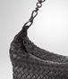 BOTTEGA VENETA SMALL SHOULDER BAG IN NERO INTRECCIATO NAPPA Shoulder or hobo bag D ep