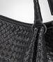 BOTTEGA VENETA PARACHUTE BAG IN NERO INTRECCIATO NAPPA Shoulder or hobo bag D ep