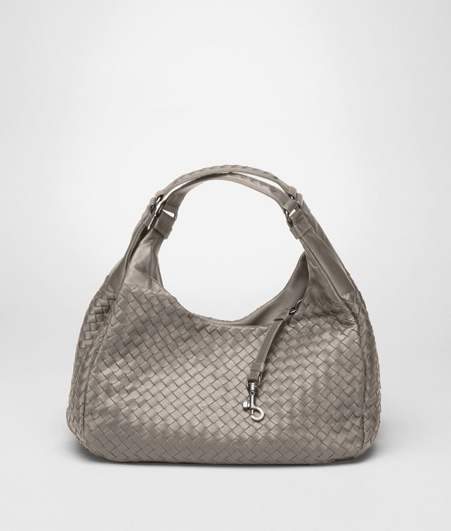 BOTTEGA VENETA Fume Intrecciato Nappa Campana Bag Shoulder or hobo bag D fp
