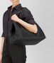BOTTEGA VENETA LARGE TOTE BAG IN NERO INTRECCIATO NAPPA Tote Bag D lp