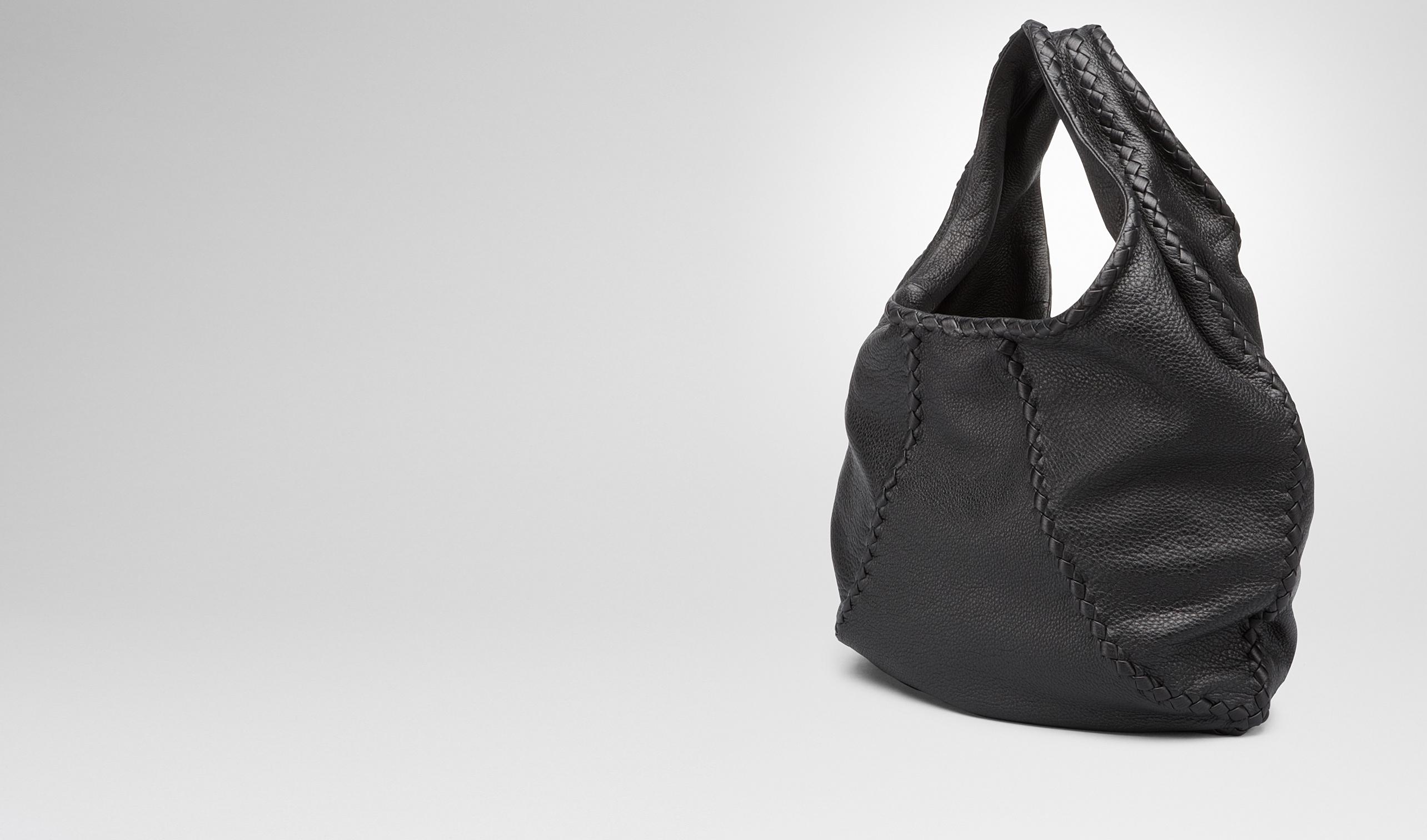 7748a94a76 Bottega Veneta® - Nero Washed Cervo Bag