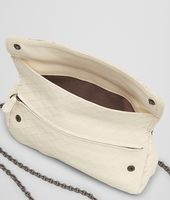 Kleine Messenger-Tasche mit Intrecciomirage Antique