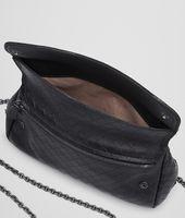 Nero Intrecciomirage Messenger Mini Bag