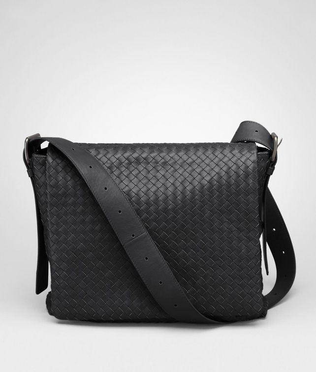 Nero Light Calf Cross Body Messenger
