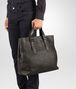 BOTTEGA VENETA TOTE BAG IN MORO INTRECCIATO CALF Tote Bag U ap
