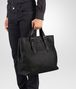 BOTTEGA VENETA TOTE BAG IN NERO INTRECCIATO CALF Tote Bag U ap
