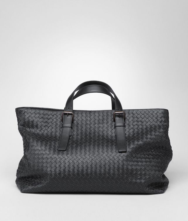 BOTTEGA VENETA Shopper Nera in Vitello Borsa Shopping U fp