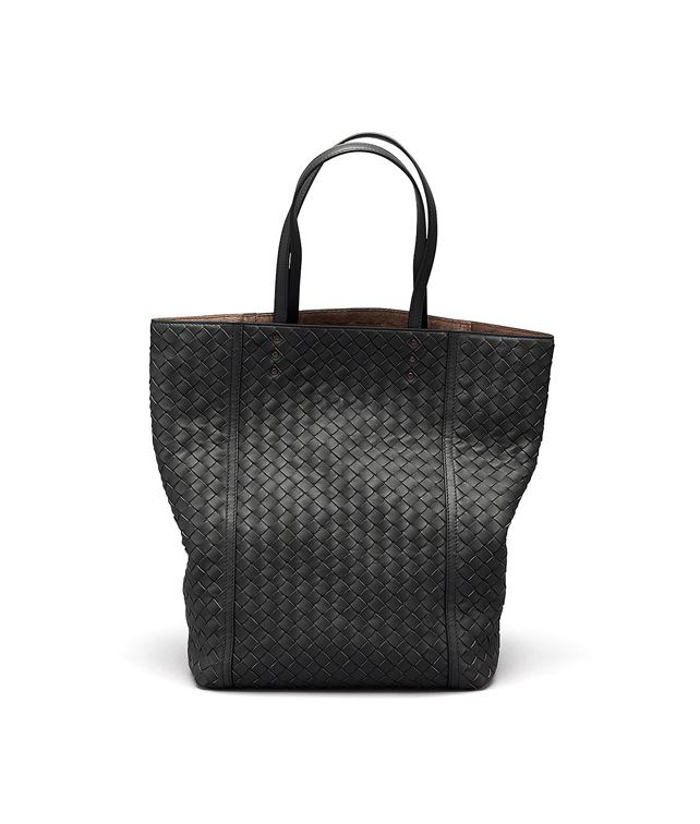 BOTTEGA VENETA TOTE BAG IN NERO INTRECCIATO NAPPA Tote Bag D fp