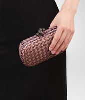 KNOT CLUTCH IN WATTEAU INTRECCIO IMPERO, AYERS DETAILS