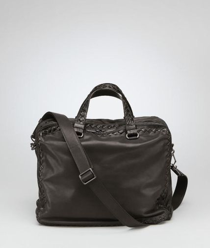 BOTTEGA VENETA - Waxed Leather Soft Caiman Informale Bag