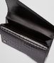 BOTTEGA VENETA Nero Shiny Crocodile Clutch Clutch D dp
