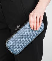 STRETCH KNOT CLUTCH IN KRIM INTRECCIO IMPERO, AYERS DETAILS