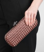 STRETCH KNOT CLUTCH IN WATTEAU INTRECCIO IMPERO, AYERS DETAILS