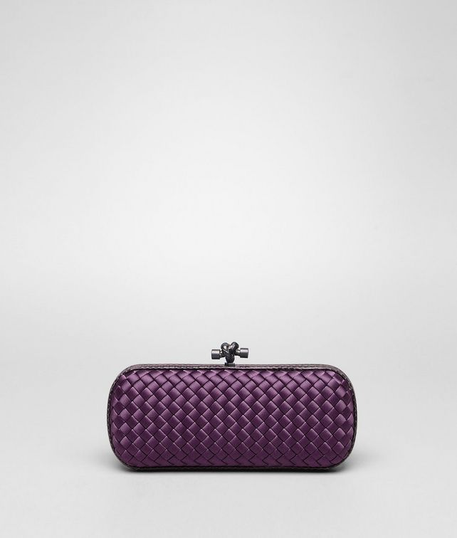 STRETCH KNOT CLUTCH IN COROT INTRECCIO IMPERO, AYERS DETAILS