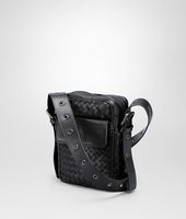 Nero Intrecciato VN Cross Body Bag