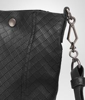 Nero Intrecciomirage Lave Cross Body Bag