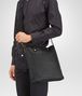 BOTTEGA VENETA Nero Intrecciomirage Lave Cross Body Bag Messenger Bag U ap