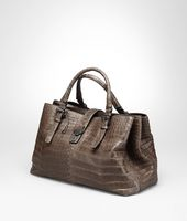 MEDIUM ROMA BAG IN EDOARDO CROCODILE