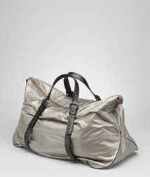 BOTTEGA VENETA - Holiday and weekend bags, Shadow Nero Spinnaker Duffel