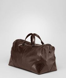 BOTTEGA VENETA - Holiday and weekend bags, Edoardo Light Calf Intreccio Scolpito Duffel