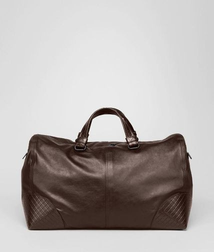 BOTTEGA VENETA - Light Calf Intreccio Scolpito Duffel