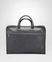 Ardoise Intrecciato Light Calf Briefcase