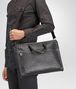 BOTTEGA VENETA AKTENTASCHE AUS INTRECCIATO KALBSLEDER IN ARDOISE Business Tasche U lp