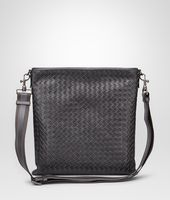 Cross Body Bag aus VN-Leder Intrecciato Ardoise