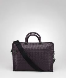 BOTTEGA VENETA - Briefcases, Quetsche Intrecciato Light Calf Briefcase