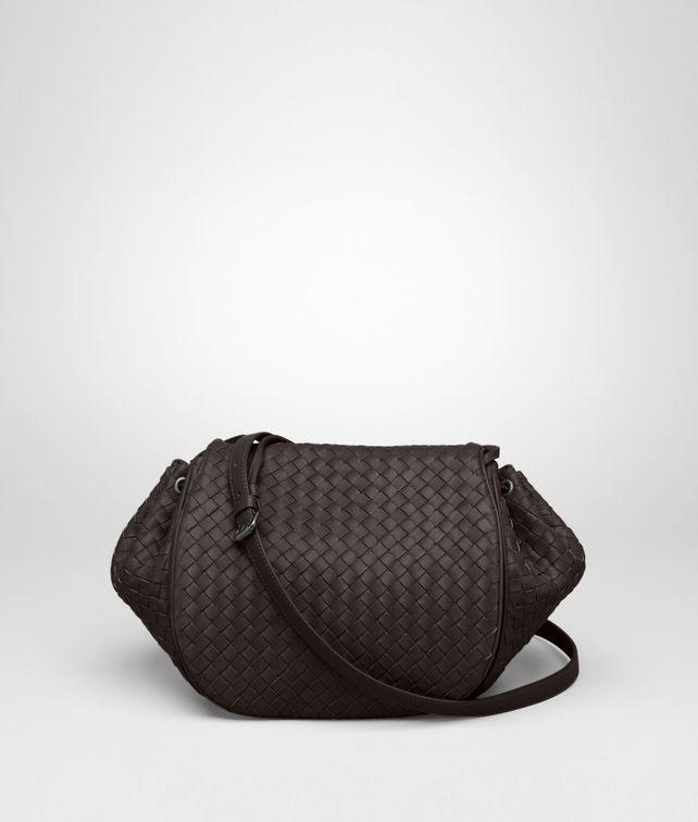 BOTTEGA VENETA Ebano Intrecciato Nappa Cross Body Bag Crossbody bag D fp