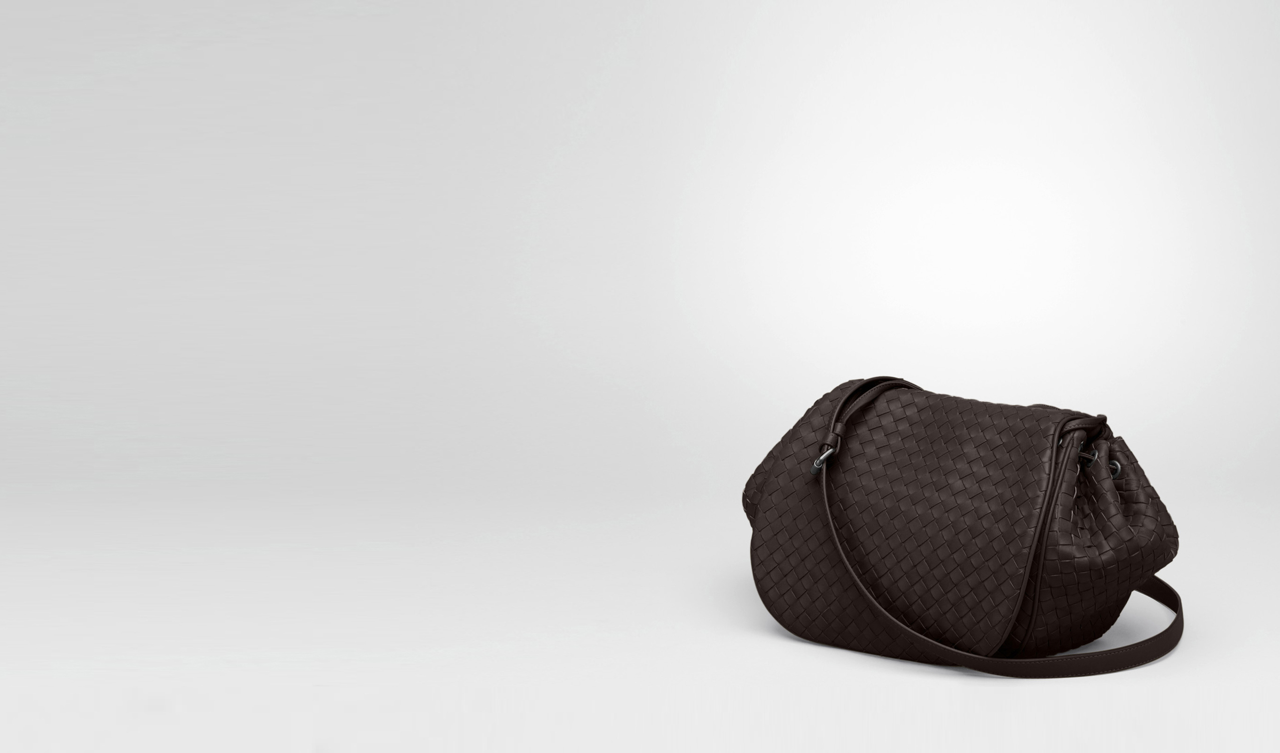 4ba53b73a0 bottega veneta buy online - Bottega Veneta  - Ebano Intrecciato Nappa Cross  Body Bag