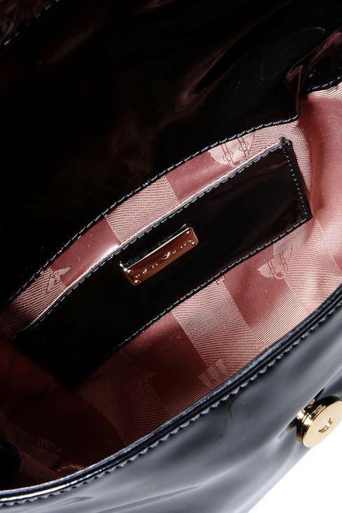 PATENT SHOULDER BAG: Messenger bags Women by Armani - 3