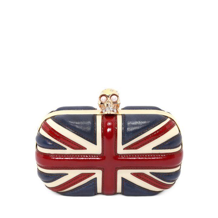 Alexander McQueen, Britannia Skull Box Clutch