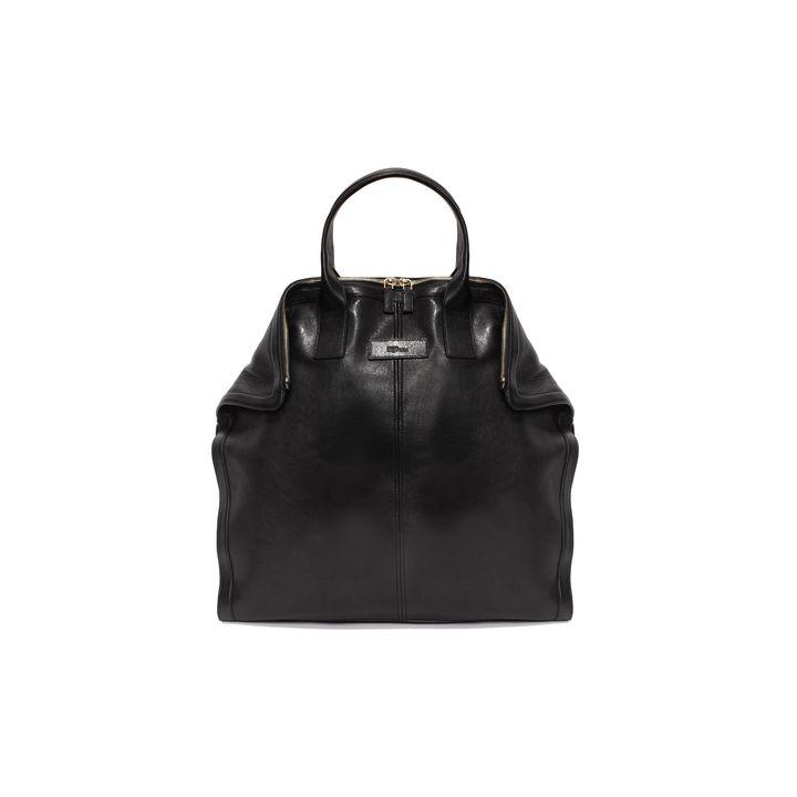 Alexander McQueen, Leather De Manta Tote