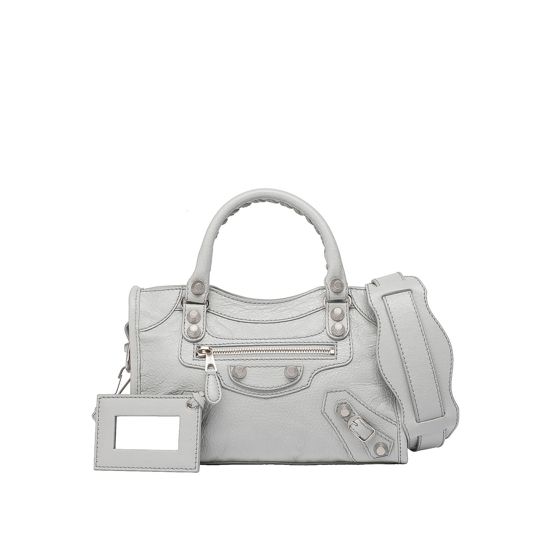 Balenciaga Giant 12 Mini City Silber