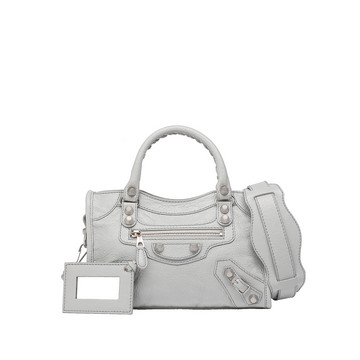 Balenciaga Giant 12 Mini City Argent