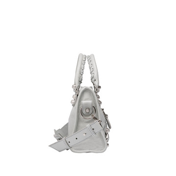 Balenciaga Giant 12 Mini City Plata