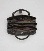 Borsa Roma Ardoise in Light Calf Intrecciato