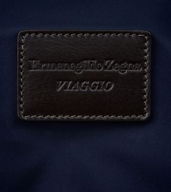 ERMENEGILDO ZEGNA: Wheeled luggage Maroon - Blue - Steel grey - 45208564FL