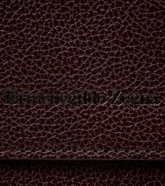 ERMENEGILDO ZEGNA: Office and laptop bag Maroon - Blue - 45208566XJ