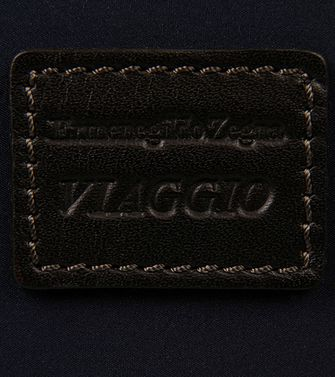 ERMENEGILDO ZEGNA: Digital case Black - Blue - 45208570SO