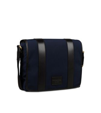 ERMENEGILDO ZEGNA: Shoulder bag Black - Blue - 45208579JN