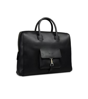 ERMENEGILDO ZEGNA: Office and laptop bag Black - 45208617UV