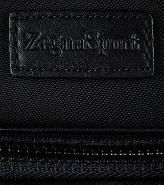 ZEGNA SPORT: Office and laptop bag Black - Blue - 45208618AB