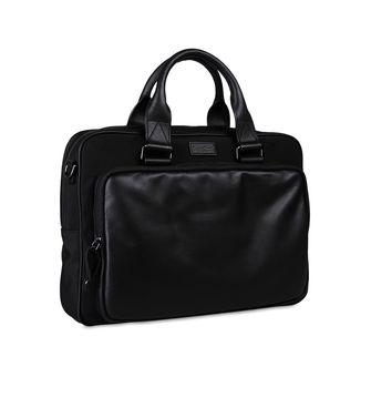 ZEGNA SPORT: Office and laptop bag Black - 45208618AB