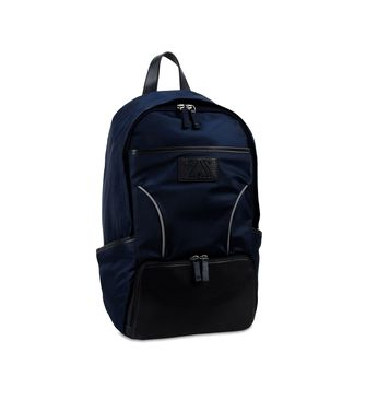ZEGNA SPORT: Backpack Maroon - Blue - 45208622ke