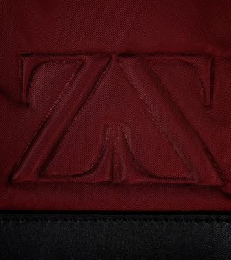 ZEGNA SPORT: Shoulder bag Maroon - Deep jade - 45208623ae
