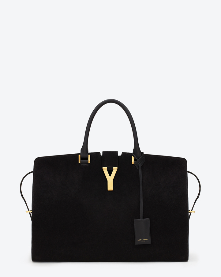ysl cabas chyc large leather tote